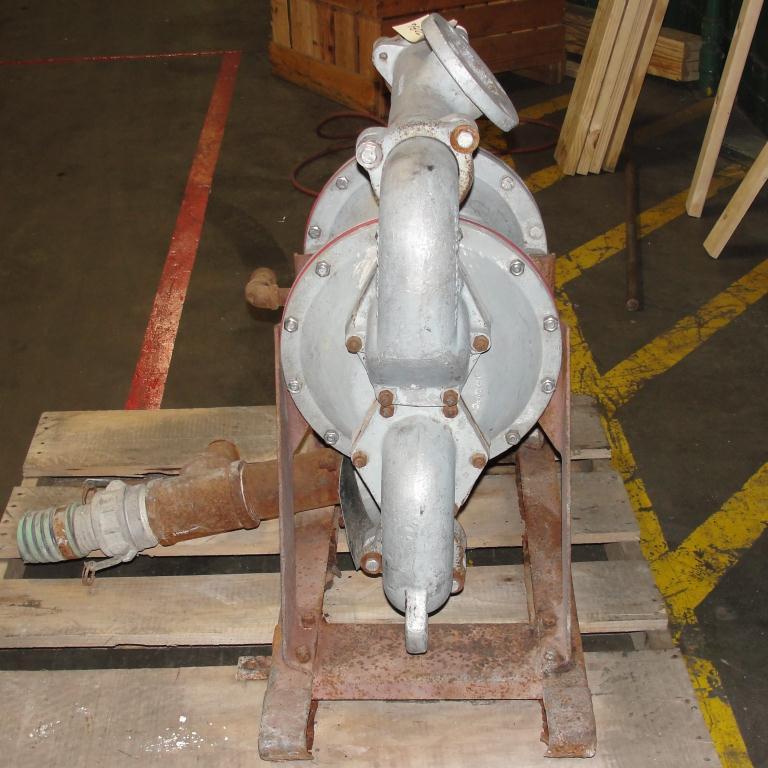 Pump 3 SandPiper diaphragm pump, Aluminum7