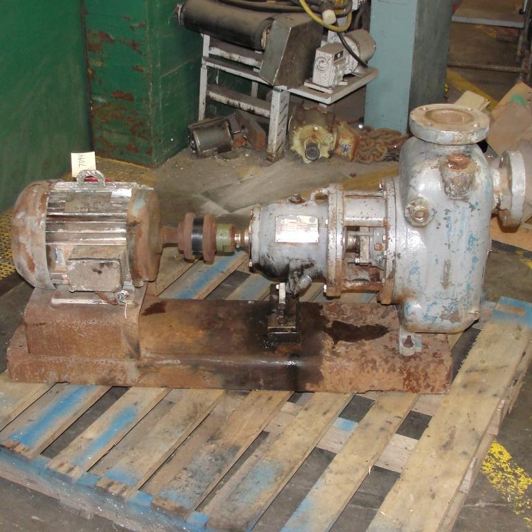 Pump 3x3x10 Dean Met-Pro corp centrifugal pump, 10 hp, Stainless Steel4