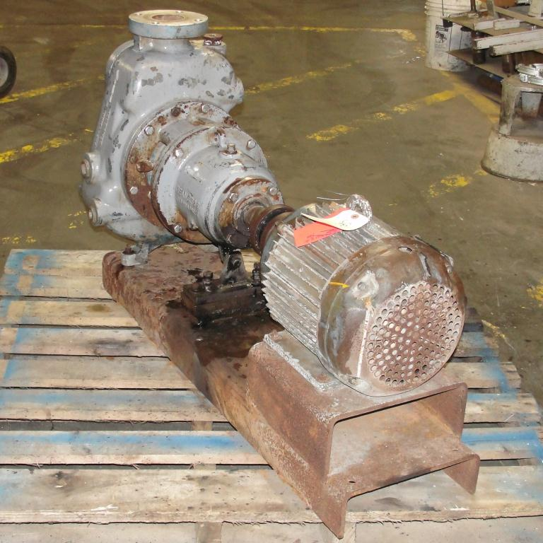 Pump 3x3x10 Dean Met-Pro corp centrifugal pump, 10 hp, Stainless Steel5