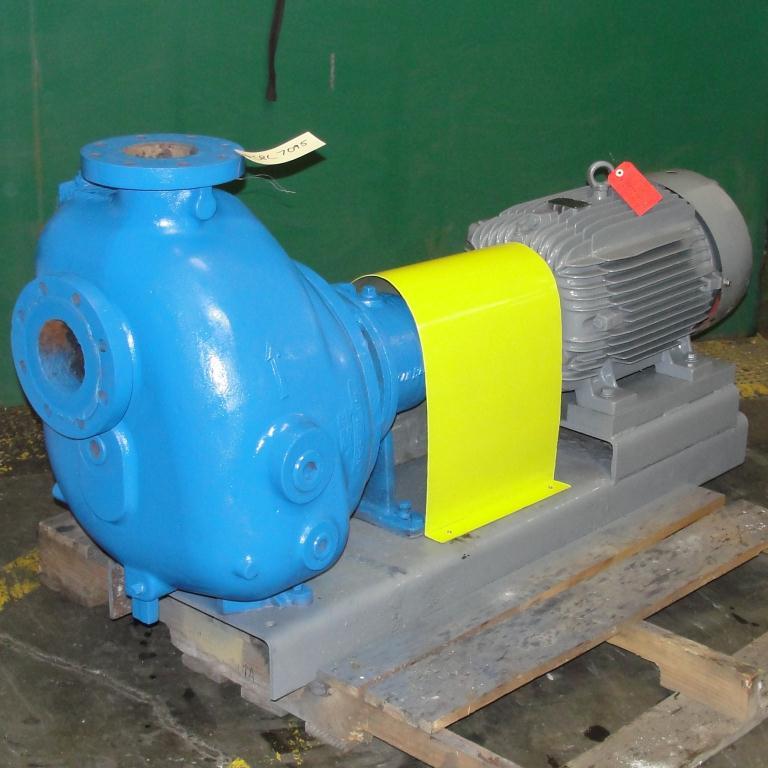 Pump 4 x4 x 10 Dean Met-Pro corp centrifugal pump, 30 hp, Cast Iron1