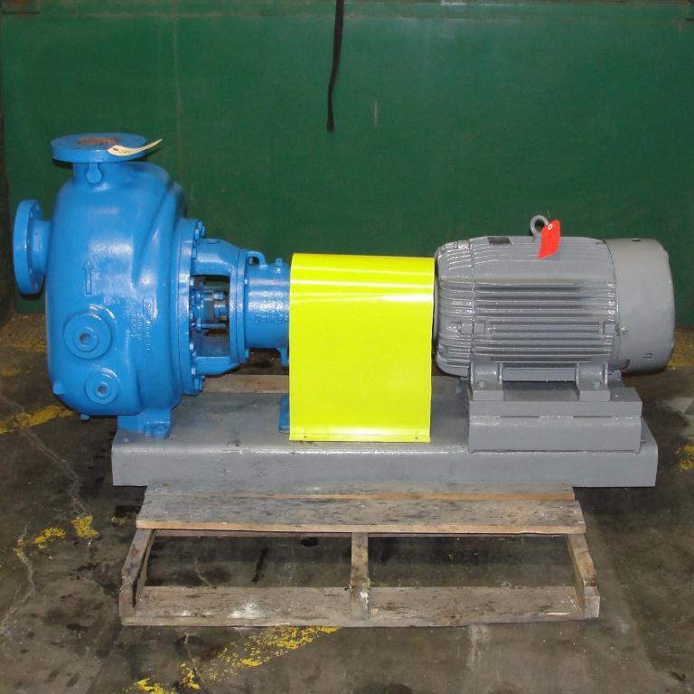 Pump 4 x4 x 10 Dean Met-Pro corp centrifugal pump, 30 hp, Cast Iron2