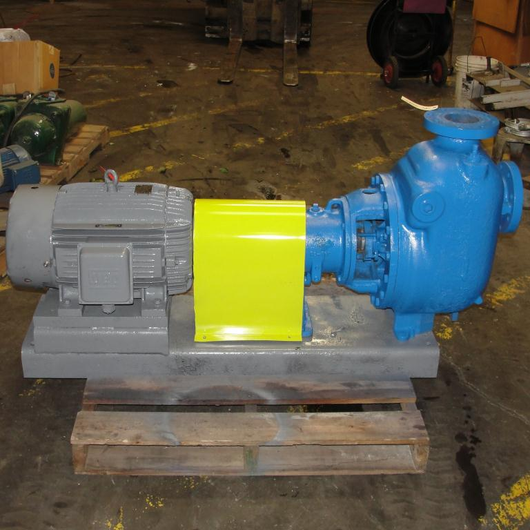 Pump 4 x4 x 10 Dean Met-Pro corp centrifugal pump, 30 hp, Cast Iron3