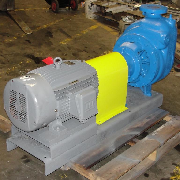Pump 4 x4 x 10 Dean Met-Pro corp centrifugal pump, 30 hp, Cast Iron5