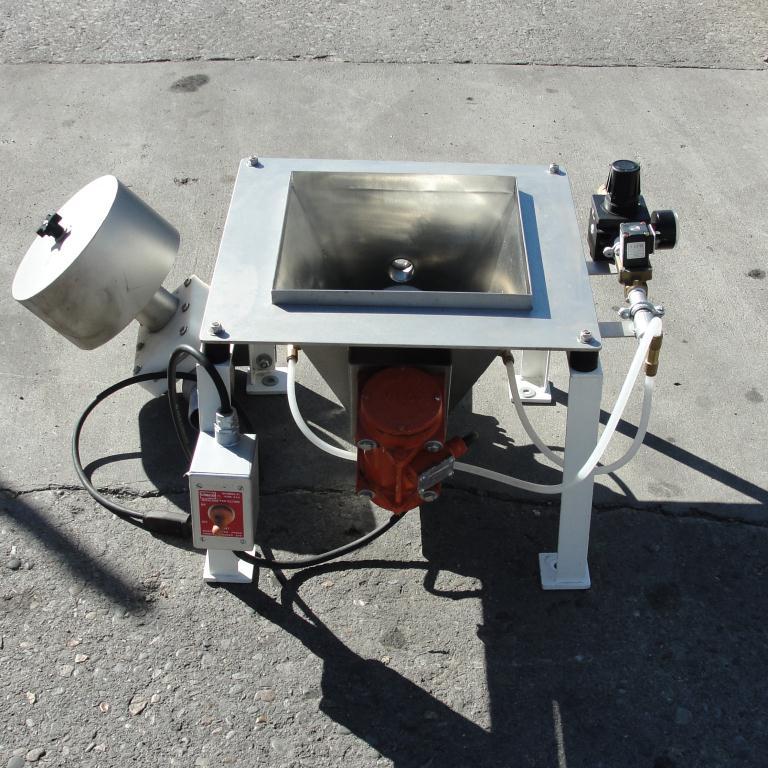 Conveyor VAC-U-MAX vacuum conveyor Stainless Steel .4 cuft capacity4