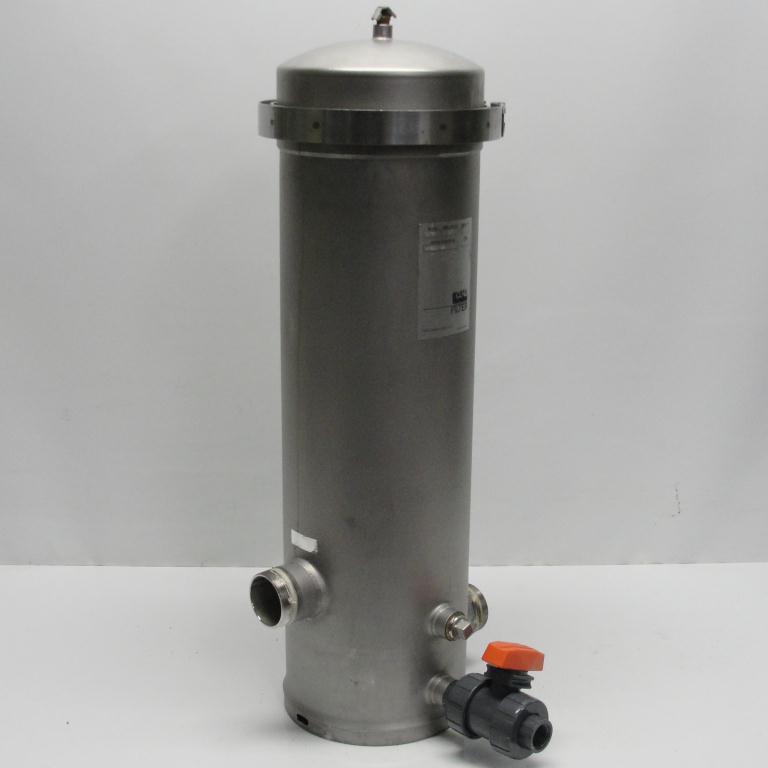 Filtration Equipment 4.4 sqft CUNO cartridge filter model 4DC2, 304 SS4