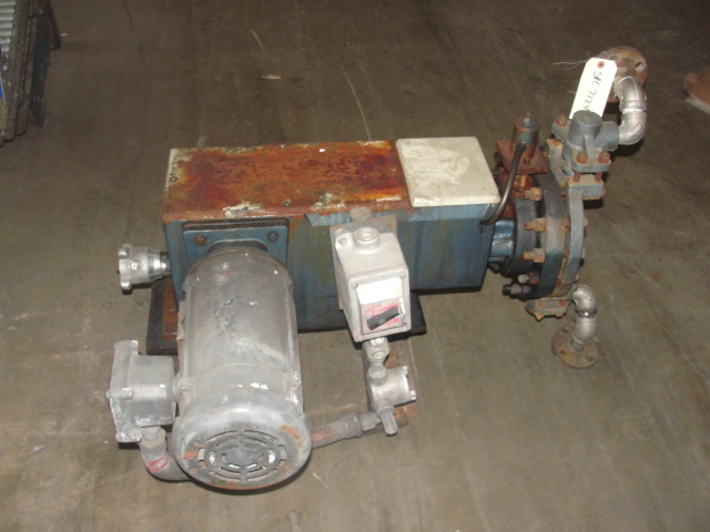 Pump 1 inlet Milton Roy positive displacement pump 5 hp, Stainless Steel