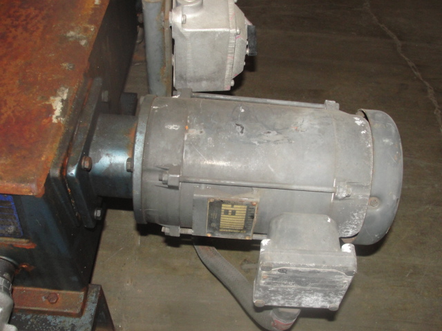 Pump 1 inlet Milton Roy positive displacement pump 5 hp, Stainless Steel 240 gpm @ 60 psi3