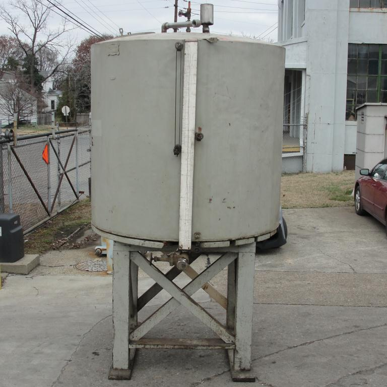 Tank 900 gallon vertical tank, Copper, flat bottom4