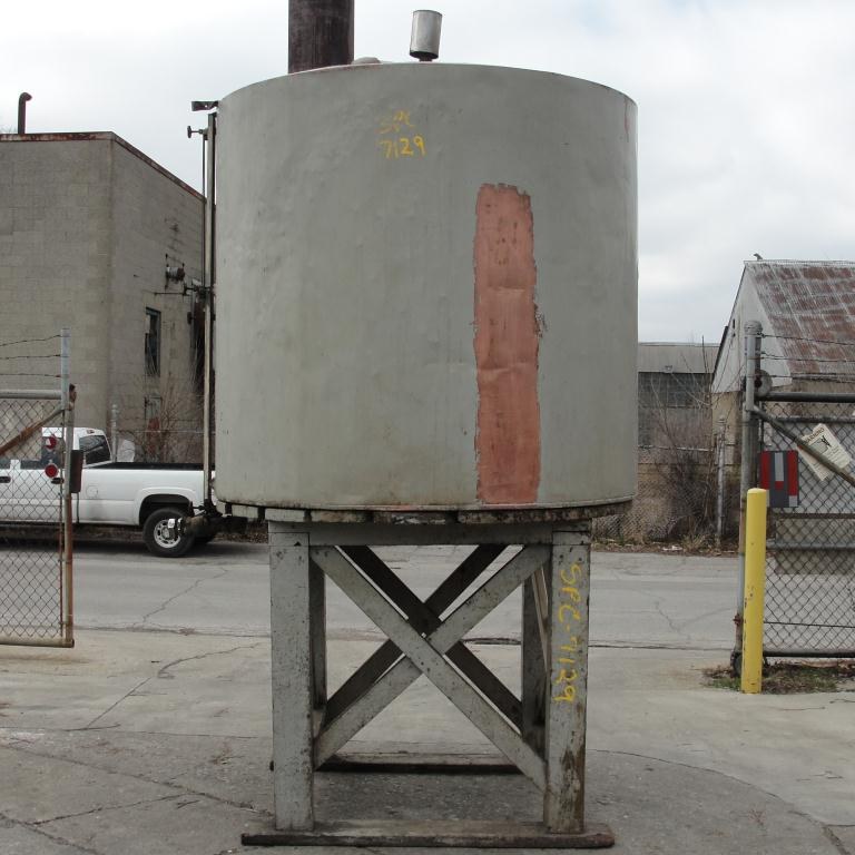 Tank 900 gallon vertical tank, Copper, flat bottom6