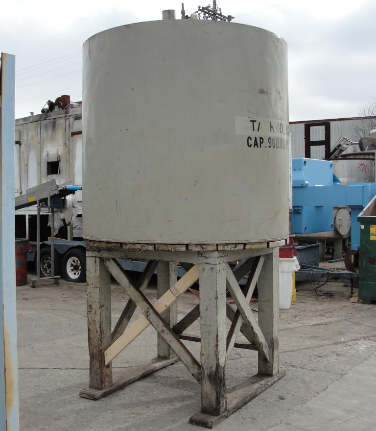 Tank 900 gallon vertical tank, Copper, flat bottom7