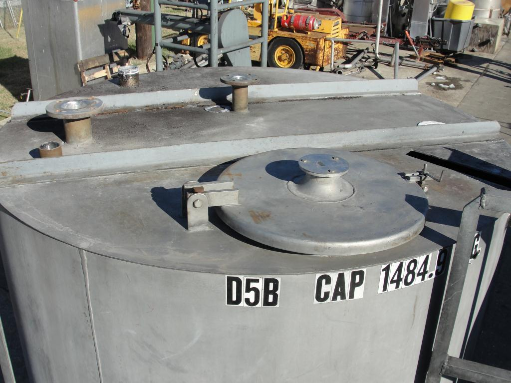 Tank 1450 gallon vertical tank, Stainless Steel, flat bottom, A pair of tanks with mezzanine6