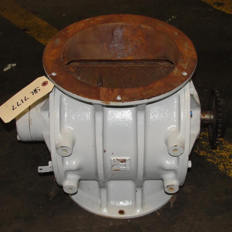 Valve 10 dia CS Prater-Sterling rotary airlock feeder3