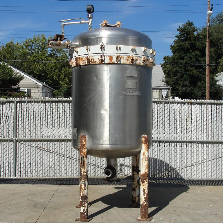 Filtration Equipment 342 sq.ft. Ametek Niagra pressure leaf filter model 48-322-342, Stainless Steel2
