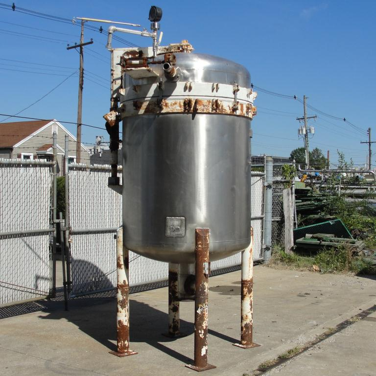 Filtration Equipment 342 sq.ft. Ametek Niagra pressure leaf filter model 48-322-342, Stainless Steel3