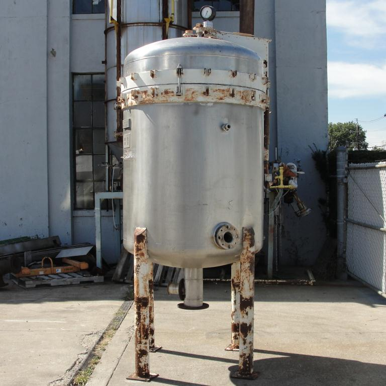 Filtration Equipment 342 sq.ft. Ametek Niagra pressure leaf filter model 48-322-342, Stainless Steel6