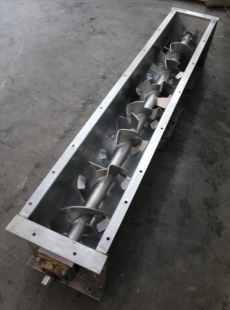 Conveyor screw conveyor Stainless Steel, 9 dia x 72l3