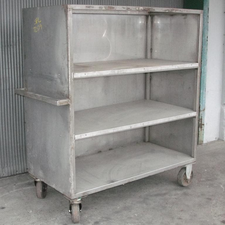 Miscellaneous Equipment Portable Cart, Stainless Steel1