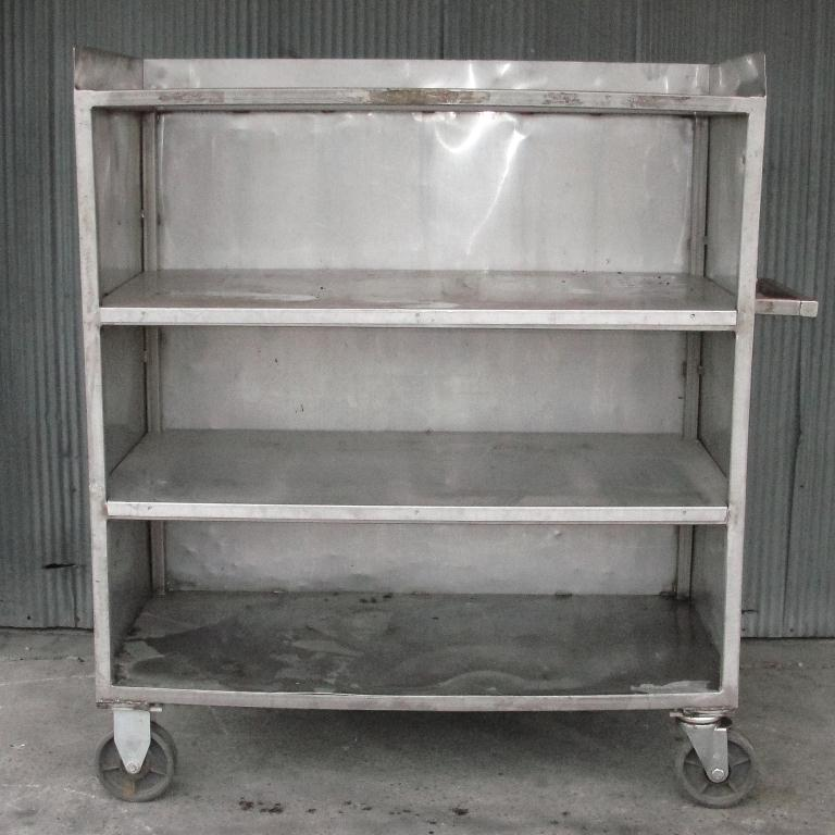 Miscellaneous Equipment Portable Cart, Stainless Steel2
