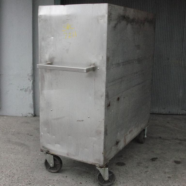 Miscellaneous Equipment Portable Cart, Stainless Steel3