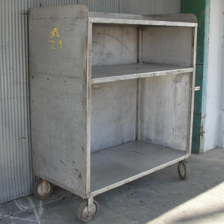 Miscellaneous Equipment Cart, Stainless Steel3