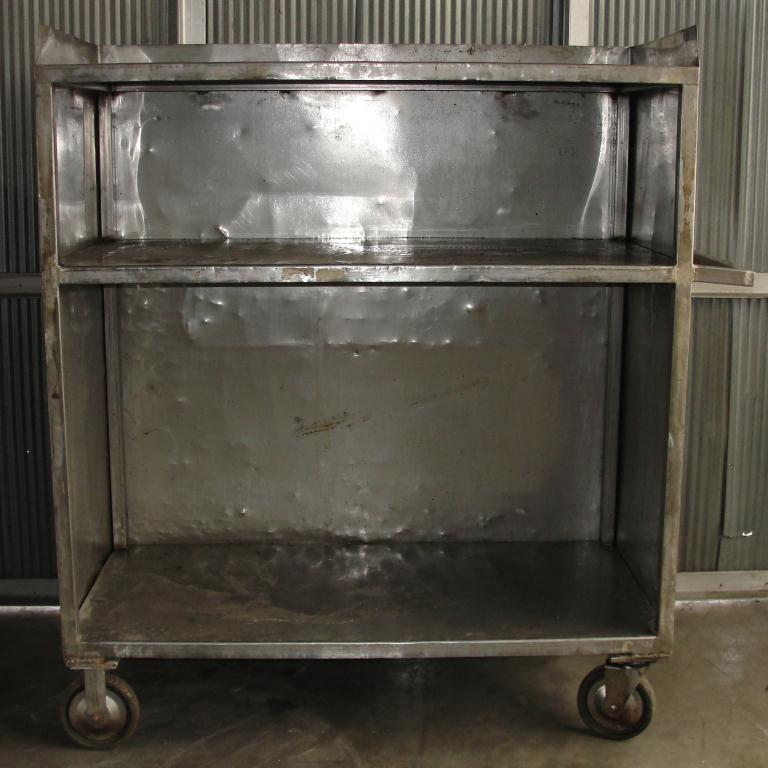 Miscellaneous Equipment Cart, Stainless Steel1