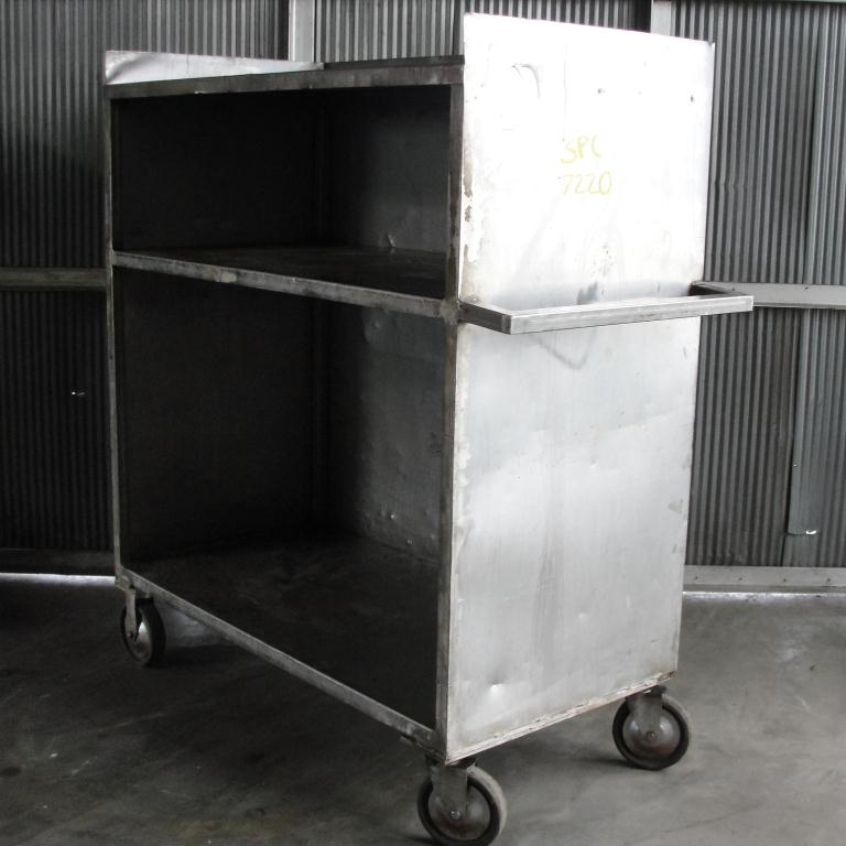 Miscellaneous Equipment Cart, Stainless Steel2