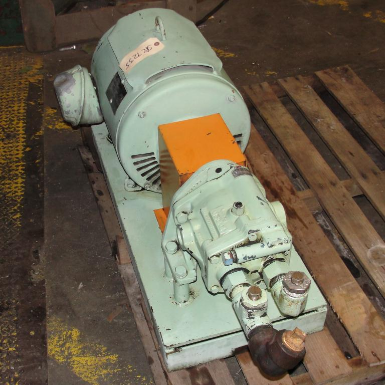 Pump 15 hp Vickers hydraulic pump1