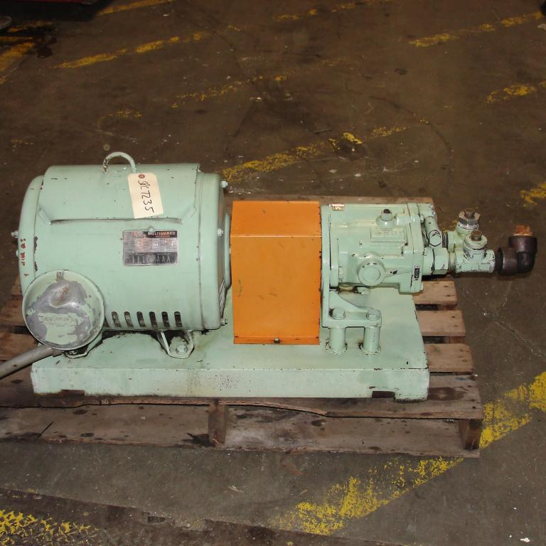 Pump 15 hp Vickers hydraulic pump2