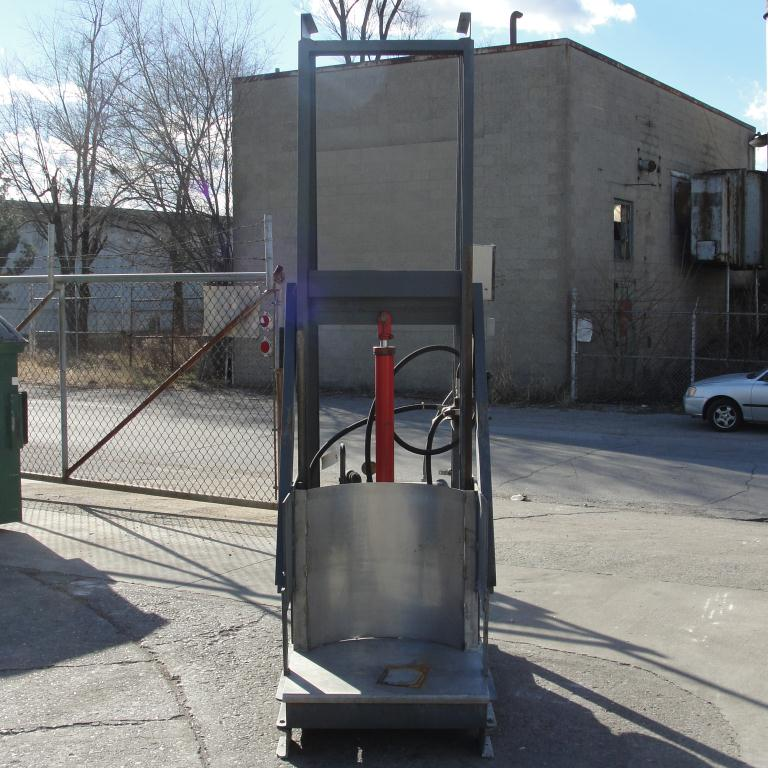 Material Handling Equipment ABC Conveyors Inc drum lift 42 lift height3
