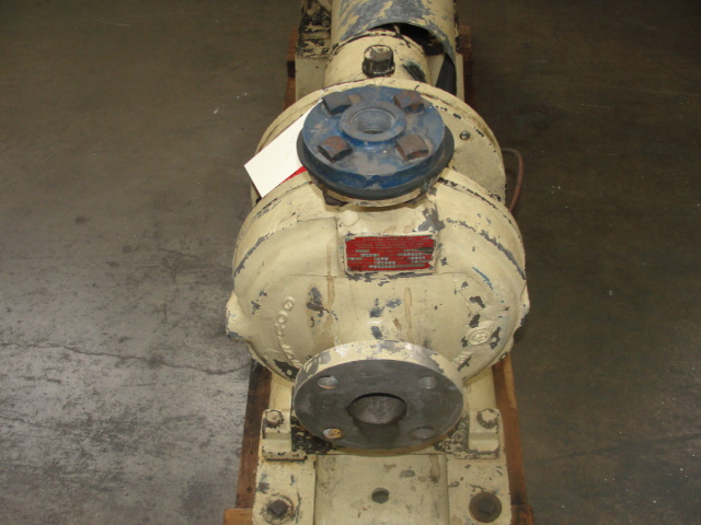 Pump 2x1x8 Goulds centrifugal pump, 7.5 hp, Stainless Steel2