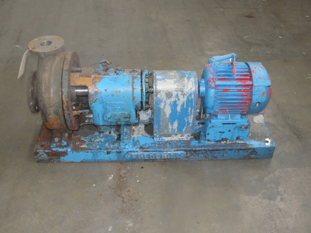 Pump 3x2x10 Fredrick centrifugal pump, 5 hp, Stainless Steel1