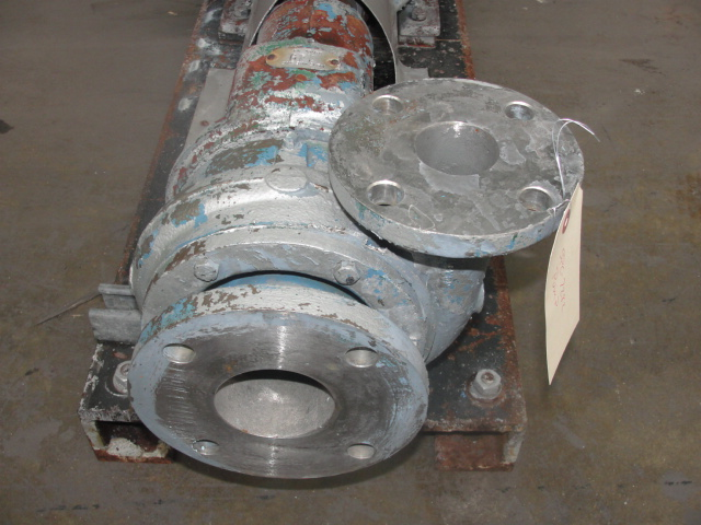 Pump 3x2x6 Worthington centrifugal pump, 5 hp, Stainless Steel2