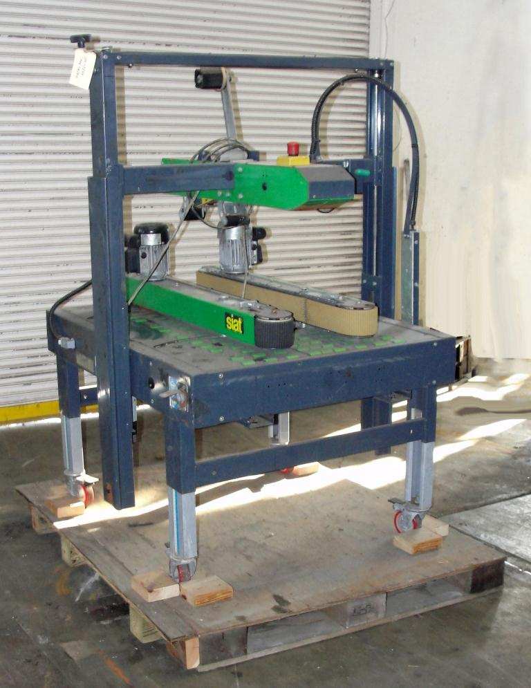 Case Sealer Siat Top only case taper model XL 36, speed 1200 bph
