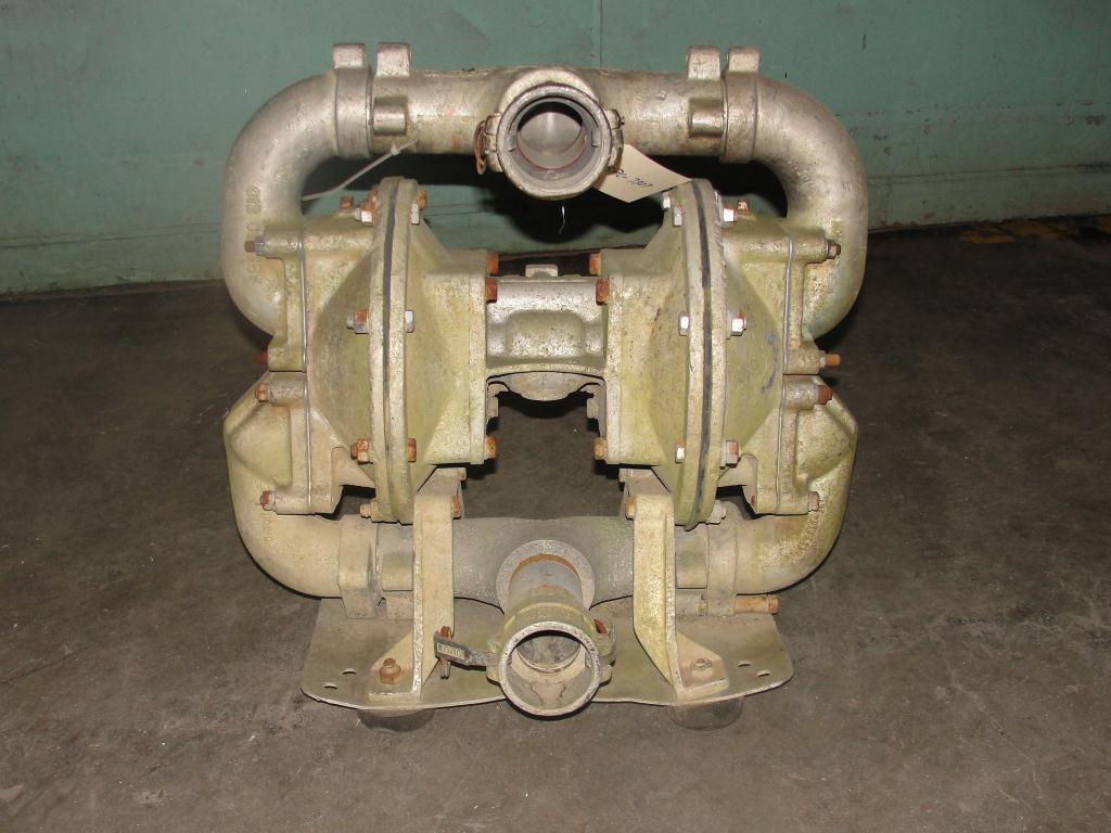 Pump 2 Sandpiper diaphragm pump, Aluminum1