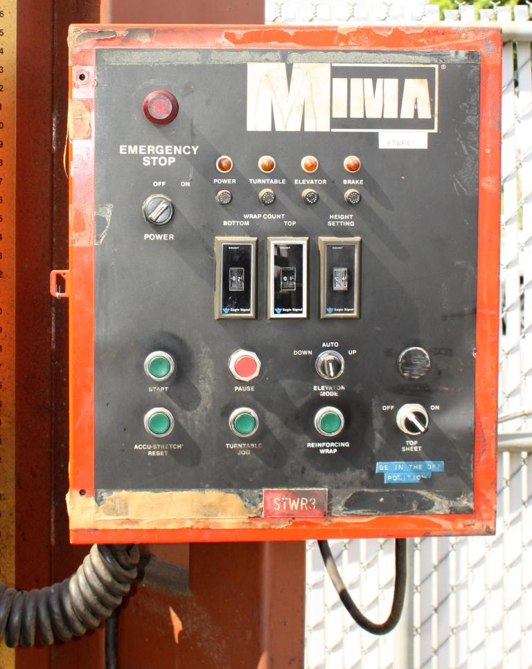 Wrapper Mima stretch wrapping machine model JT-21, 59 max. wrap height4