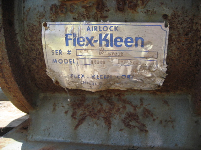 Valve 8 CS Flex-Kleen rotary airlock feeder model 8X0H03