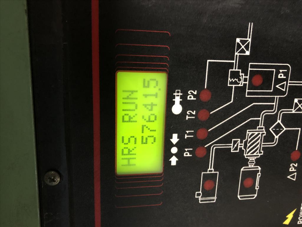 Compressor Sullair air compressor model LS20-100L AC, 500 cfm, Water cooled11