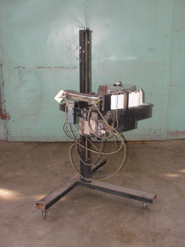 Labeler Diagraph pressure sensitive labeler model PA/4000, Tamp-on