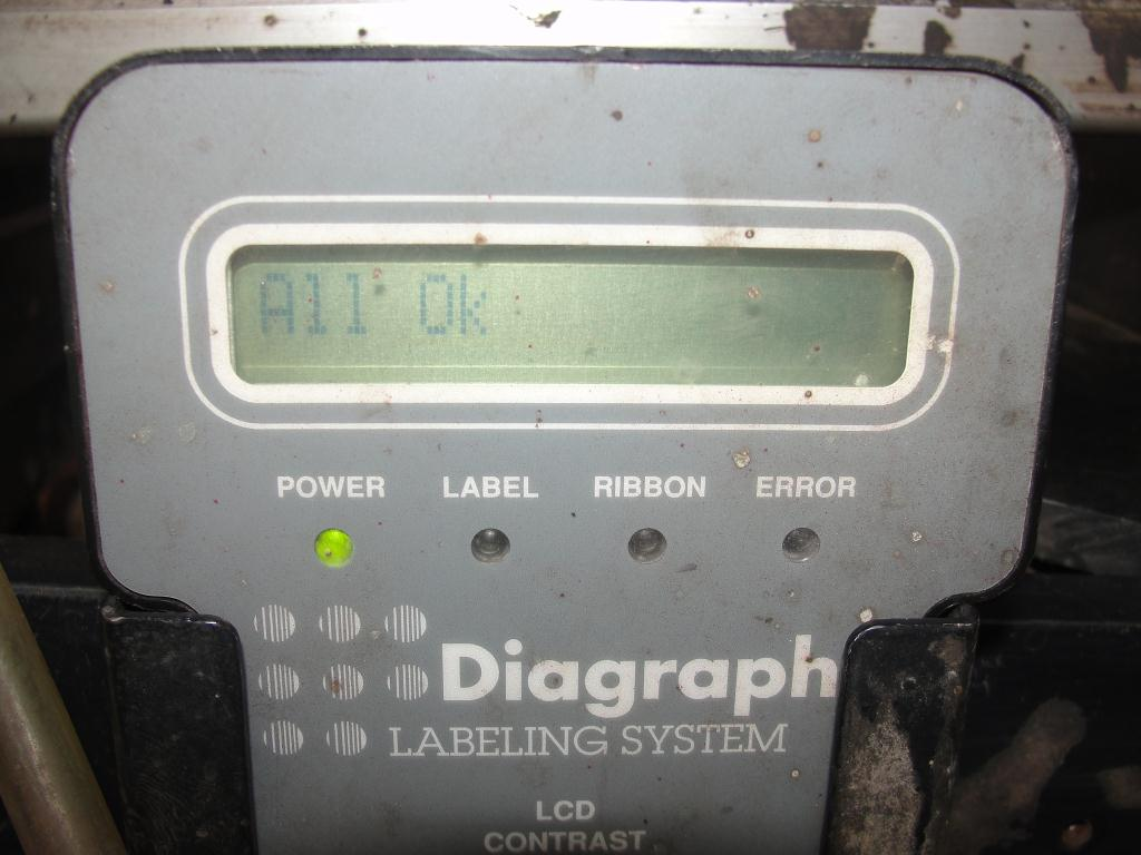 Labeler Diagraph pressure sensitive labeler model PA/4000, Tamp-on2