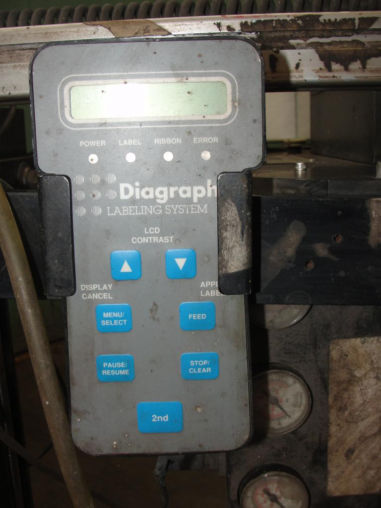 Labeler Diagraph pressure sensitive labeler model PA/4000, Tamp-on3