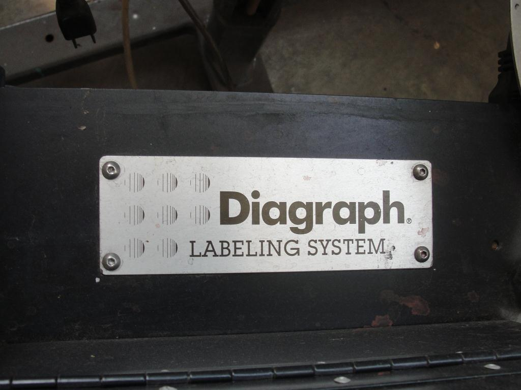 Labeler Diagraph pressure sensitive labeler model PA/4000, Tamp-on7