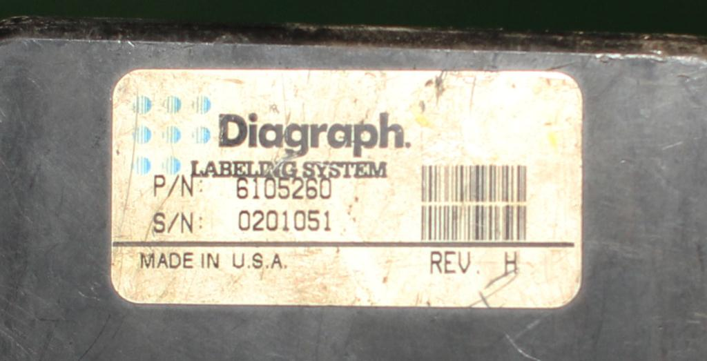 Labeler Diagraph pressure sensitive labeler model PA/4000, Tamp-on4