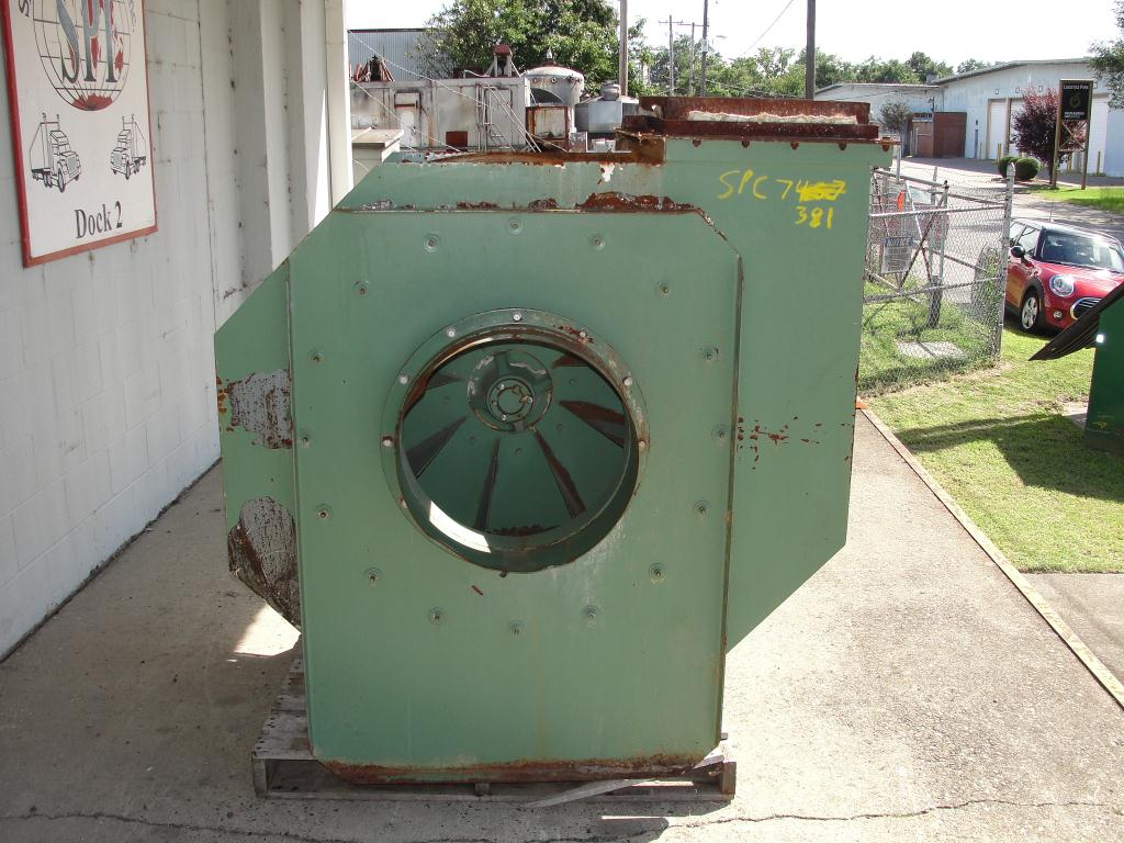 Blower 5681 cfm centrifugal fan American Fan Company model IE-19-AH K-26370-2, 50HP hp, CS4