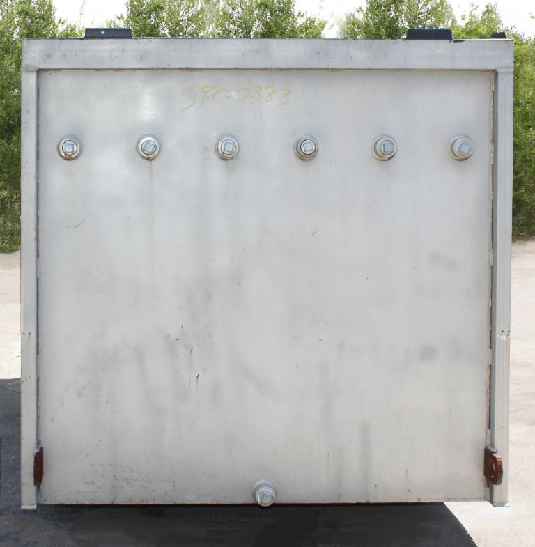 Tank 1450 gallon vertical tank, Stainless Steel, flat bottom, Retangular  96l x 58w x 60 t5