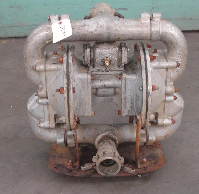 Pump 2 Warren Rupp diaphragm pump, Aluminum1
