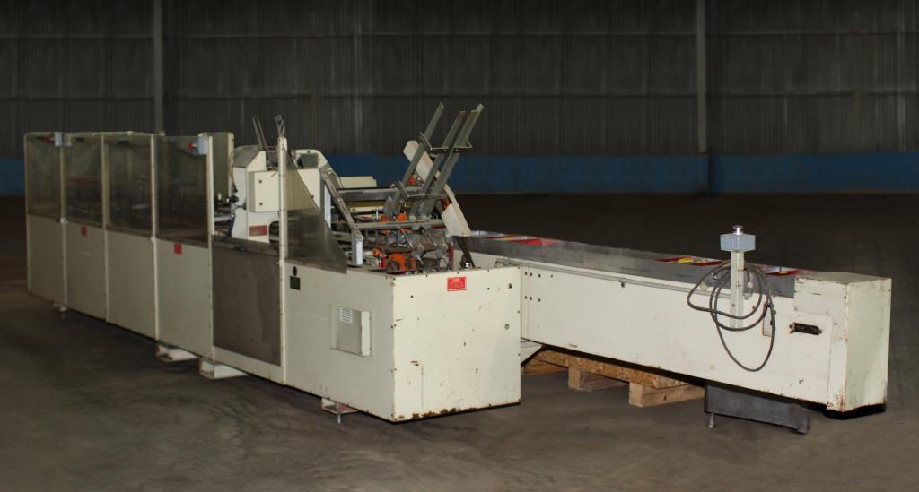 Cartoner Bivans semi-automatic cartoner model 66 SN 86-66 PR1