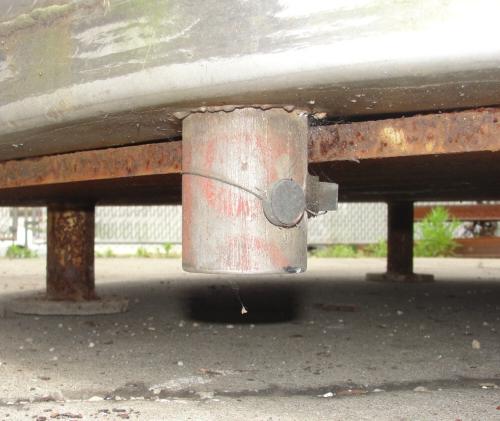 Tank 1,235 gallon vertical tank, Stainless Steel, flat bottom8