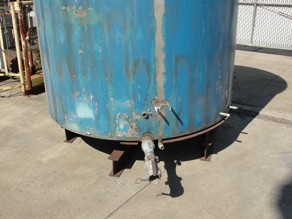 Tank 1110 gallon vertical tank, Stainless Steel, flat bottom3