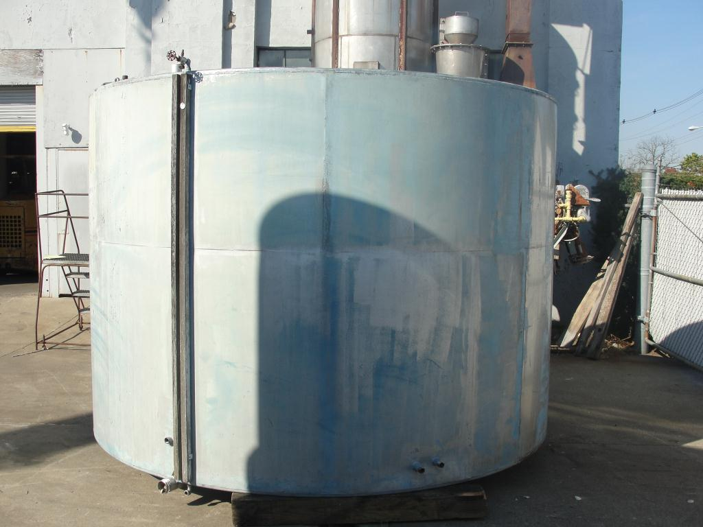 Tank 4033 gallon vertical tank, Stainless Steel, flat bottom2