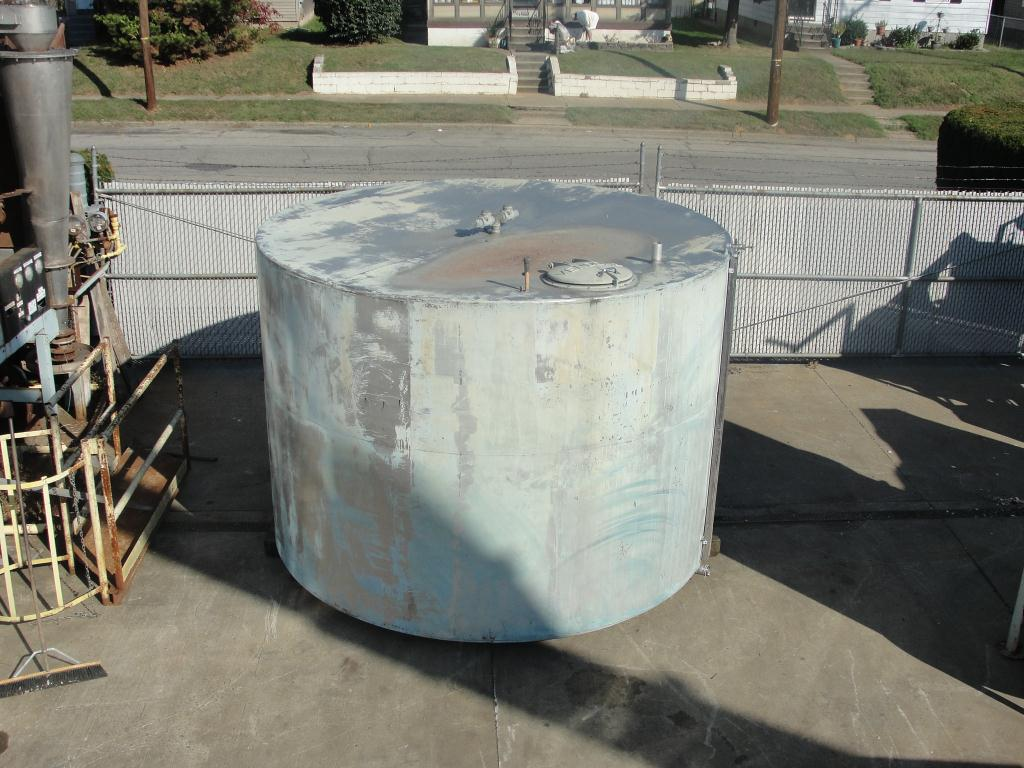 Tank 4033 gallon vertical tank, Stainless Steel, flat bottom4